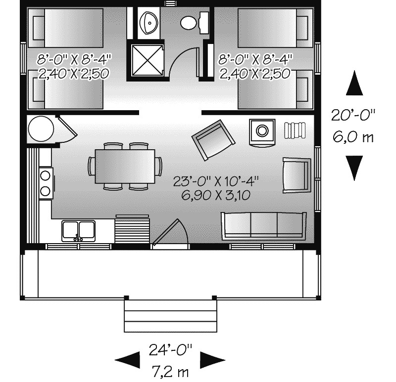 Watervista Vacation Home Plan House Plans More