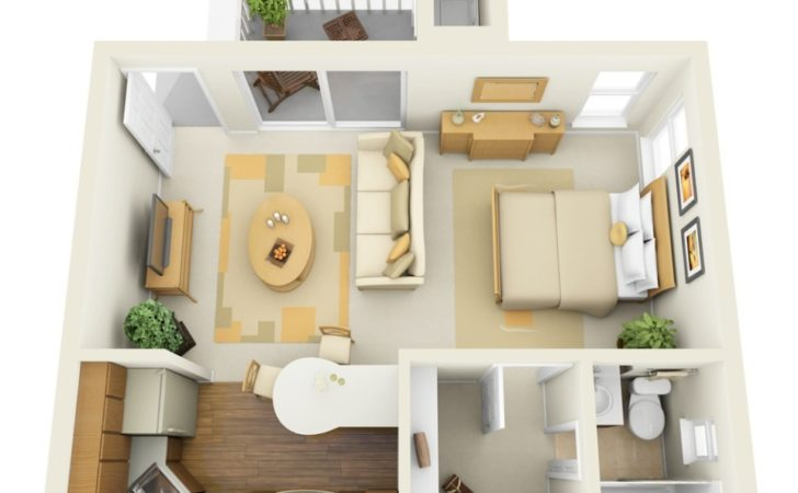 Ways Divide Studio Apartment Into Multiple Rooms