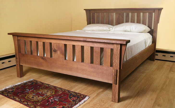 Wedding Anniversary Gift Bed Made Wood Welcome
