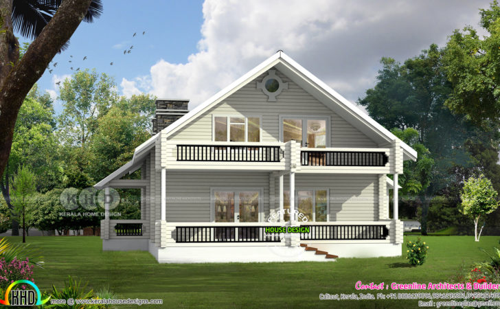 Weekend Cottage Home Architecture Kerala Design