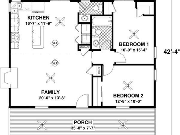 Welcome Back Small House Plan Can Pack