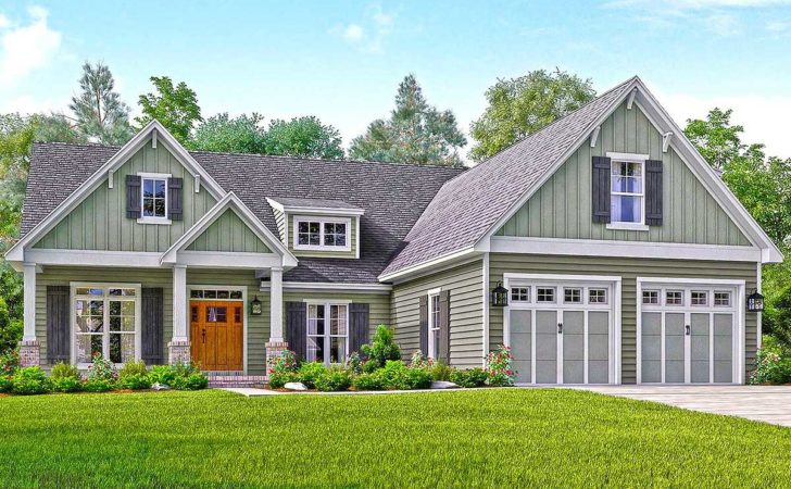 Well Appointed Craftsman House Plan