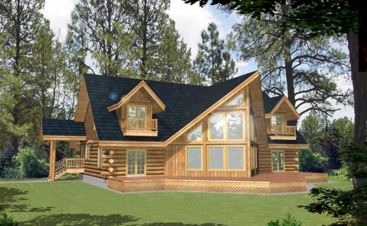 West Coast Log Home Style Cabin