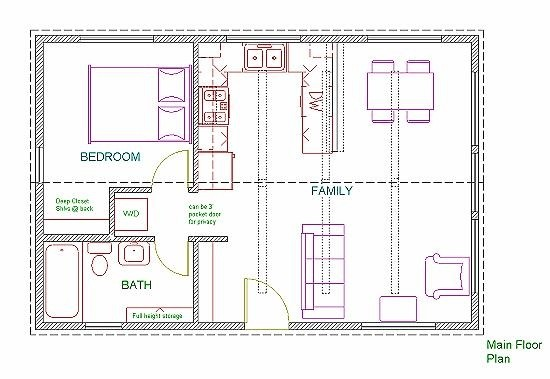 Wide House Plans Plan