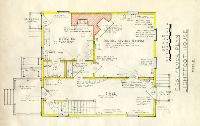 Williamsburg Colonial House Plans
