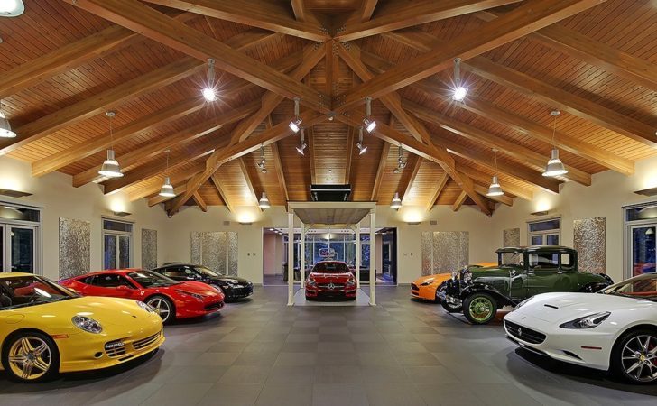 Wondrous Million Car Collector Themed House