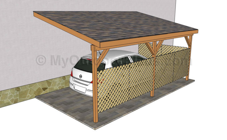 Wood Carport Designs Outdoor Plans Diy Shed
