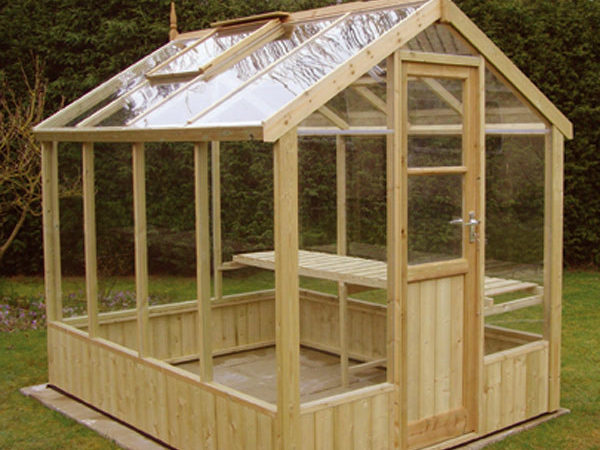 Wood Greenhouse Plans Woodproject