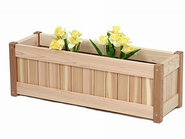 Wood Planter Box Plans Diy Woodworking Projects