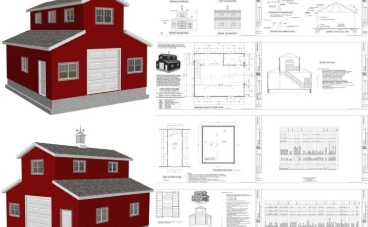 Wood Project Ideas Looking Monitor Pole Barn Plans