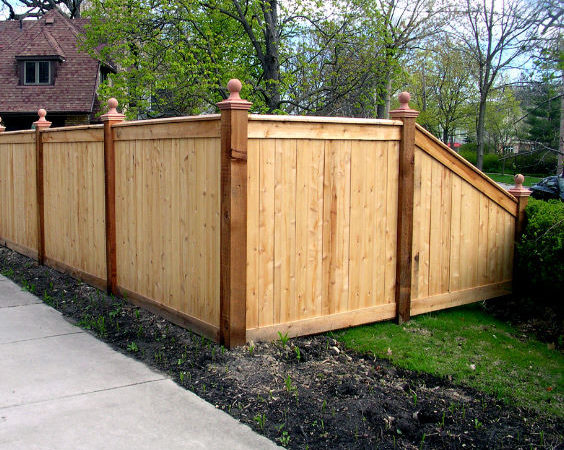 Wood Wire Fence Designs Fencing