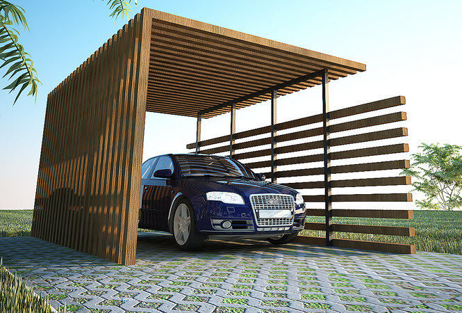 Wooden Carport Plans Architectural Design