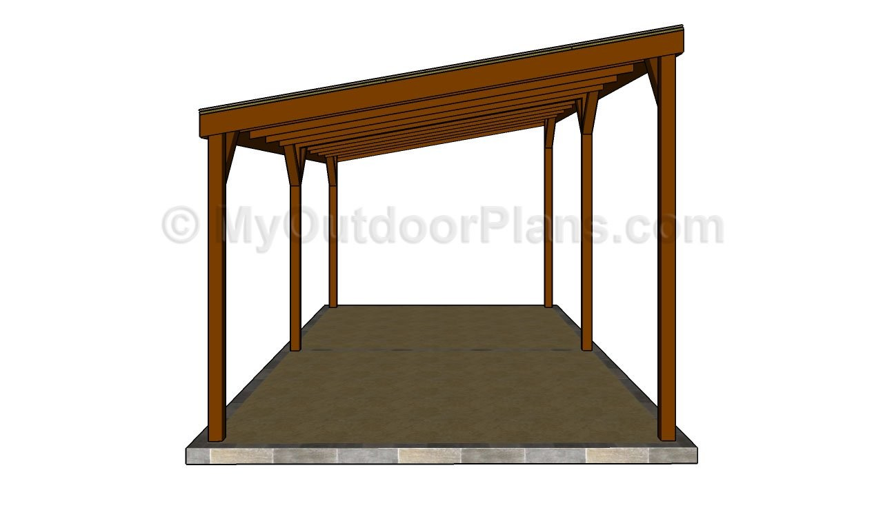 Wooden Carport Plans Myoutdoorplans Woodworking