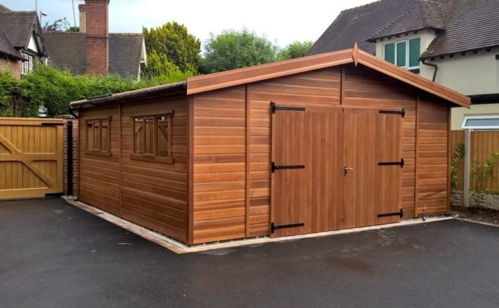 Wooden Garages Timber Sale Tunstall
