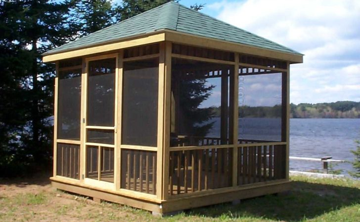 Wooden Gazebo Plans Build Perfect Shed