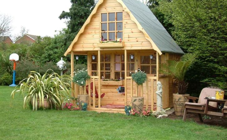 Wooden Playhouse Play House Wendyhouse Wendy