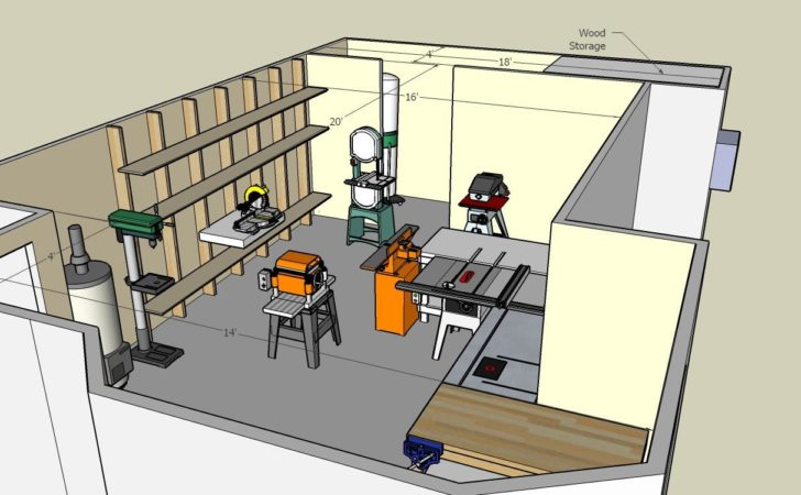 Woodshop Floor Plans Plansdownload