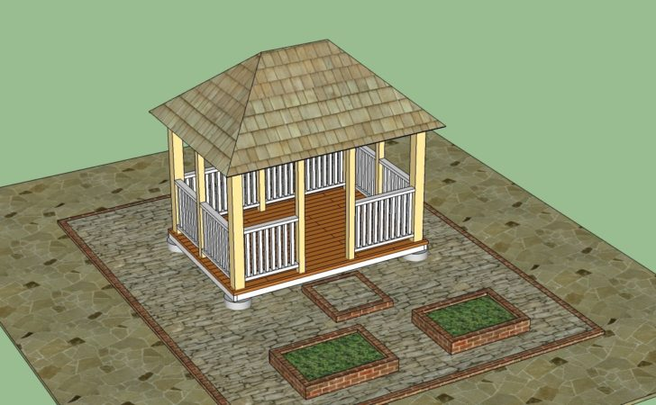 Woodwork Gazebo Construction Plans Pdf