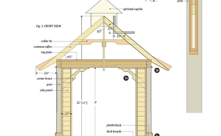 Woodwork Gazebo Plan Pdf Plans