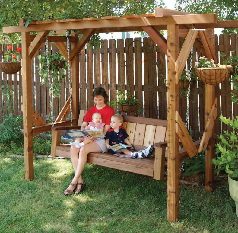Woodwork Porch Swing Arbor Plans Pdf