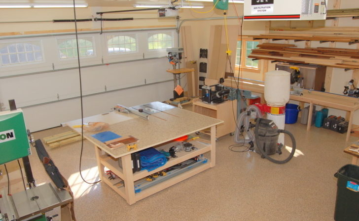 Woodworking Shop Layout Designs