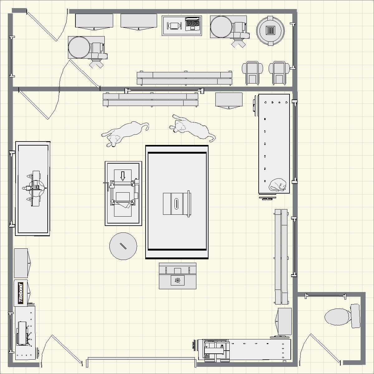 Woodworking Workshop Plans Building Furniture