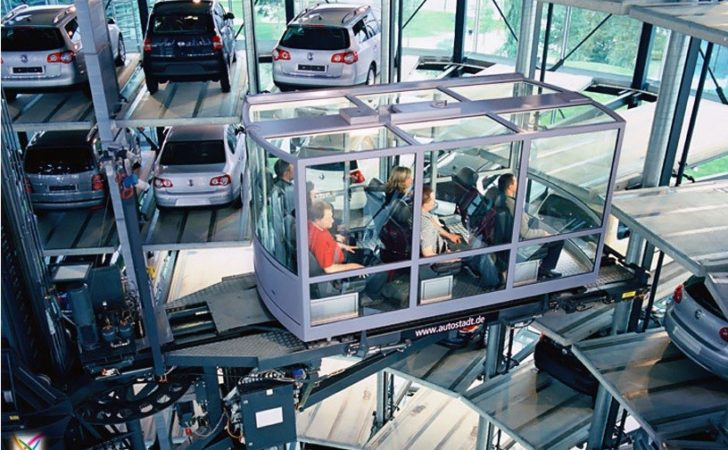 World Largest Car Parking Germany Architecture Garage