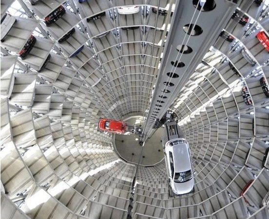 World Largest Car Parking Germany Buildings