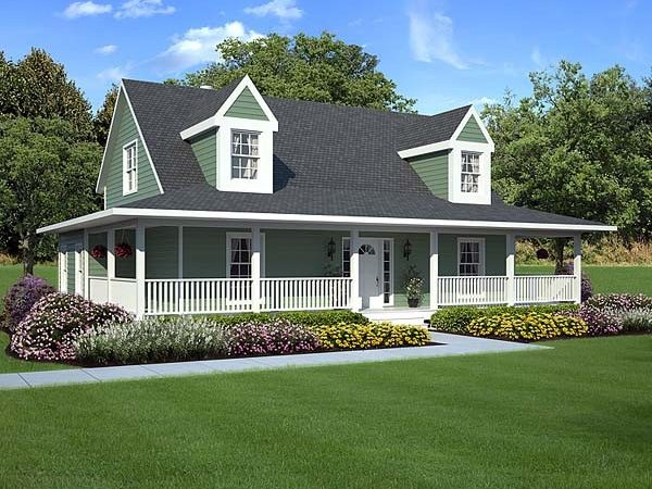 Wrap Around Porches House Plans