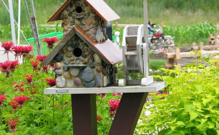 Yard Envy Decorative Bird Houses Make Wonderful