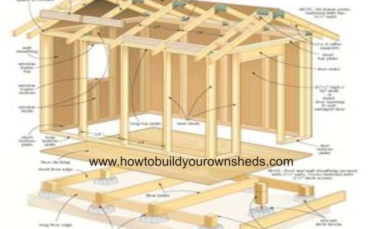 Yard Shed Plans Package