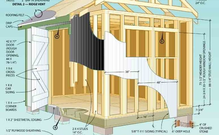 Yard Shed Plans Same Time