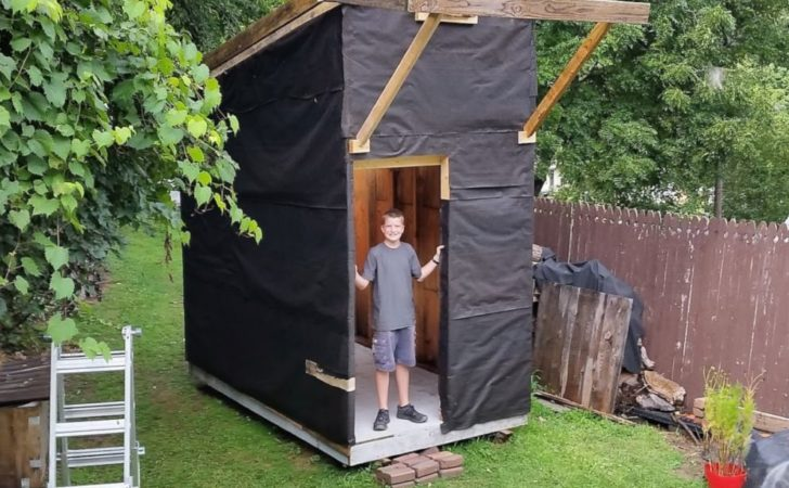 Year Old Builds Tiny House Backyard