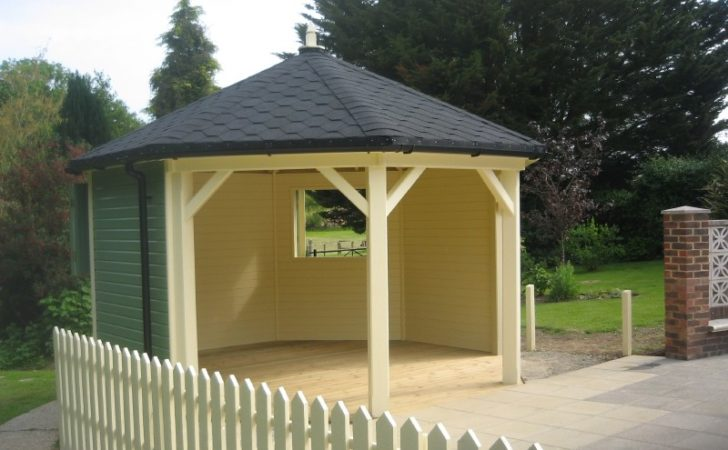 Yorkshire Garden Summerhouses Centre Side Octagonal